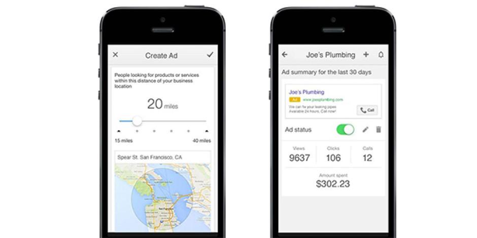 Google, AdWords Express'in iPhone ve iPad uygulamasını yayınladı