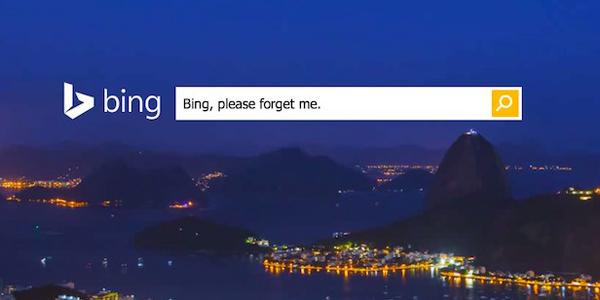 Google'ın ardından Bing de AB'nin unutulma hakkı kararına uydu