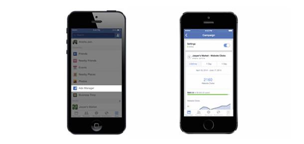 Facebook reklamları artık mobil cihazlardan yönetilebilecek
