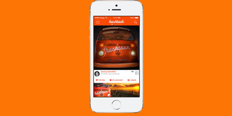 Twitter, Facebook ve Instagram fotoğraflarını tek akışa taşıyan uygulama: Hashtack