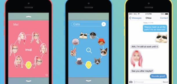 Selfie'leri emojiye dönüştüren mobil uygulama: Imoji