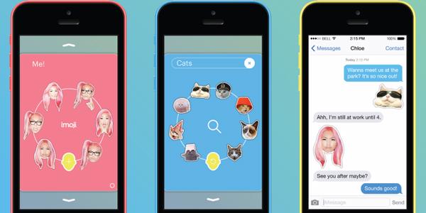 Bir iOS uygulaması olan imoji ile selfie'lerinizi emoji'ye dönüştürün