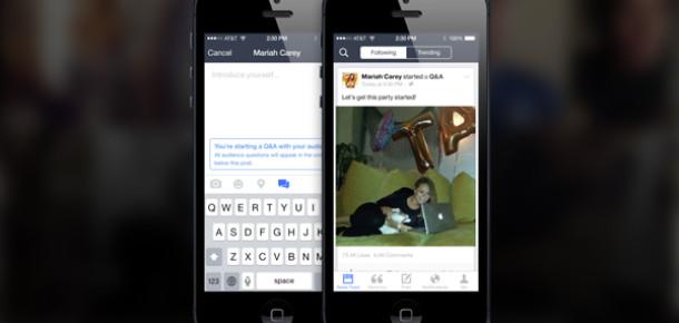 Facebook'tan ünlülere özel mobil uygulama: Mentions