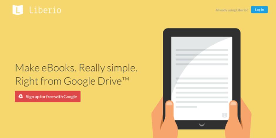 Google Drive bazlı kolay e-kitap oluşturma ve yayınlama platformu: Liberio