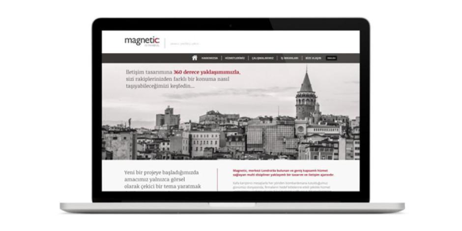Londra merkezli tasarım ve iletişim ajansı Magnetic, Türkiye ofisini açtı