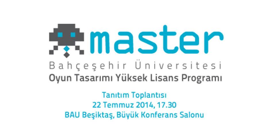 Türkiye'nin ilk oyun tasarımı yüksek lisans programı açılıyor