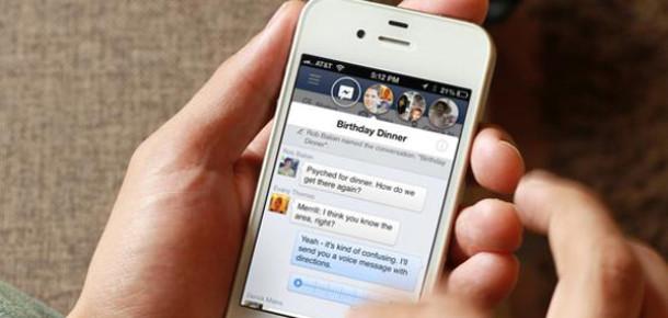 Facebook, iPhone ve Android uygulamalarından sohbet özelliğini kaldırıyor