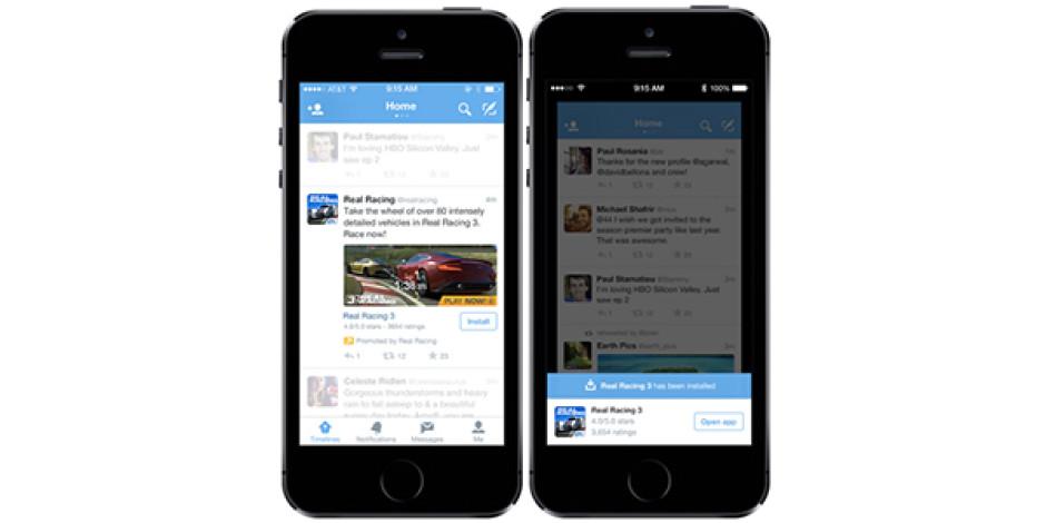 Twitter, uygulama indirme reklamlarını tüm reklamverenlere açtı