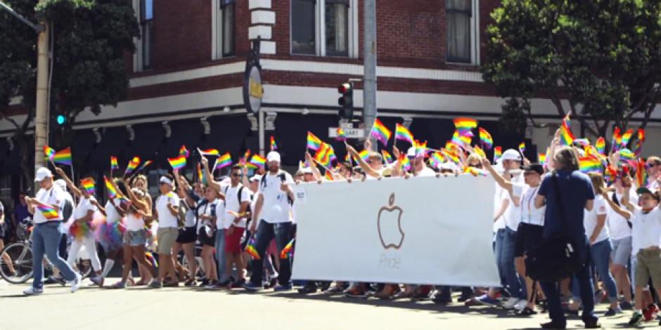 Apple'dan herkesi kucaklama mesajı içeren Onur Yürüyüşü videosu