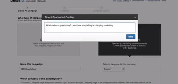 LinkedIn'den kişiselleştirilmiş yeni reklam modeli: Direkt Sponsorlu İçerikler
