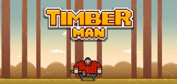 Timberman, bağımlılık yapan oynanışıyla Flappy Bird'ün tahtına aday