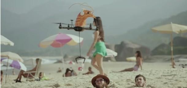 Yemeğinizi Drone'la teslim alır mıydınız? Drone'lar bu kez de noodle taşıdı