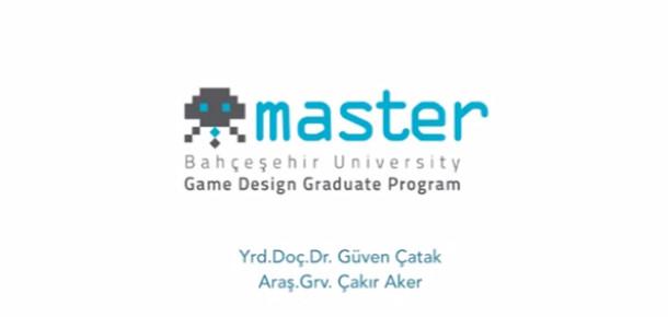 Türkiye'nin ilk oyun tasarımı yüksek lisans programı tanıtıldı