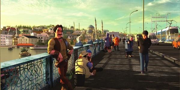 """Dünyada ilk kez bir animasyon karakter """"Ice Bucket Challenge"""" kampanyasına dahil oldu"""