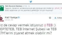 TEB ve FIAT Türkiye Twitter'da birbirleriyle konuşursa
