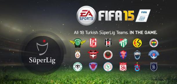 Eylül'de yayınlanacak FIFA 15'te Türkiye Süper Ligi de yer alacak