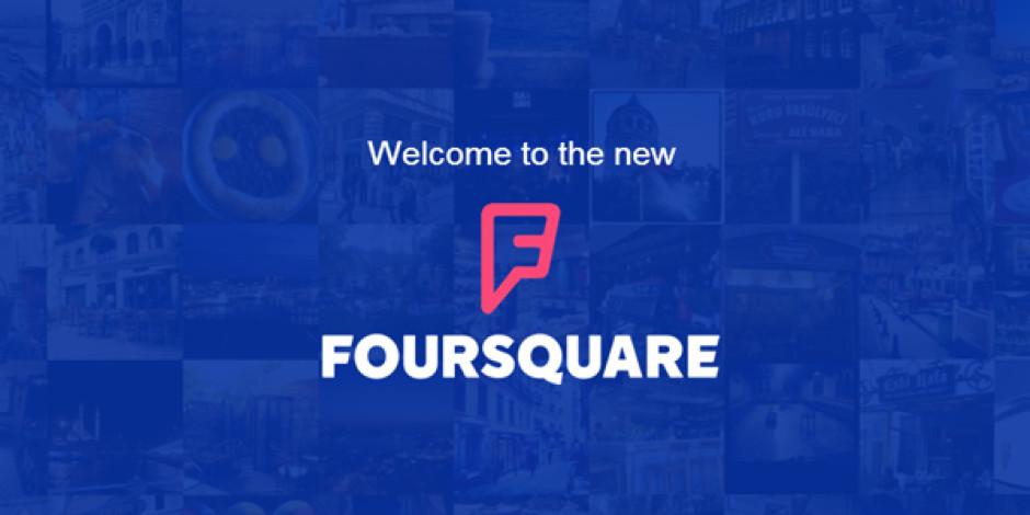 Yenilenen Foursquare uygulaması yayınlandı