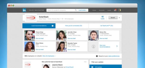 LinkedIn yeni ürünü Sales Navigator ile sosyal satışları artırmayı hedefliyor