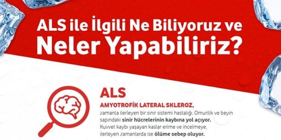"""Vodafone'dan """"ALS ile İlgili Ne Biliyoruz ve Neler Yapabiliriz?"""" infografiği"""