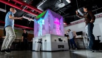 Kinect temelinde interaktif küp: The Cube