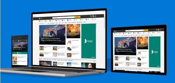 Tasarımını yenileyen Microsoft MSN Türkiye'nin içeriği zenginleşiyor