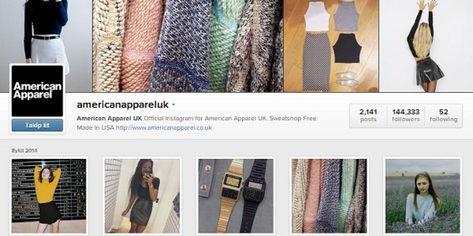 American Apparel'in Instagram'da bulunan iki fotoğrafı, cinsel öğeler içerdiği için Birleşik Krallık'ta kaldırtıldı