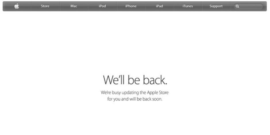 Apple akşam yapacağı etkinlik öncesinde online mağazasını kapattı