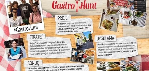 Turizm Bakanlığı'nın ülke yemeklerini tanıtmak için Arda Türkmen'le yaptığı #GastroHunt projesi
