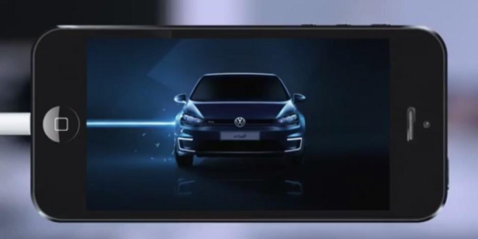 Volkswagen'in Norveç'te elektrikli Golf'ü tanıtmak için hazırladığı kampanya