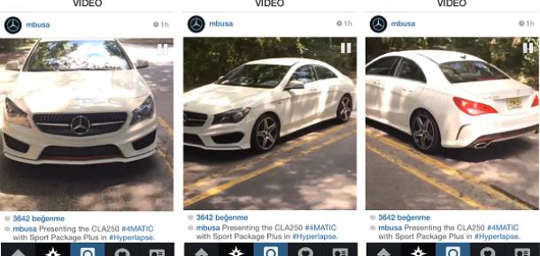 Instagram'ın yeni uygulaması Hyperlapse'i kullanan 6 marka