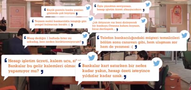 ING Bank, Twitter destek hesabını tanıtmak için dikkat çeken bir işe imza attı