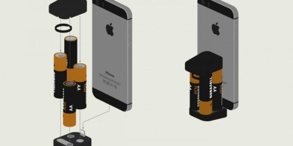 iPhone'u kalem pille şarj etme kiti: Oivo