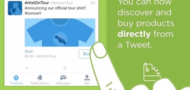 """Twitter """"satın al"""" butonunu resmen tanıttı, Sosyal Alışveriş terimi yeniden canlanıyor"""