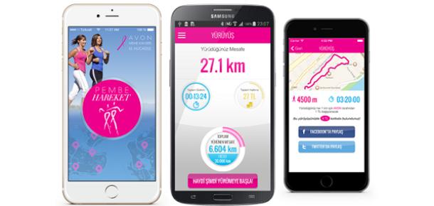 AVON'dan meme kanserine dikkat çeken mobil uygulama: Pembe Hareket