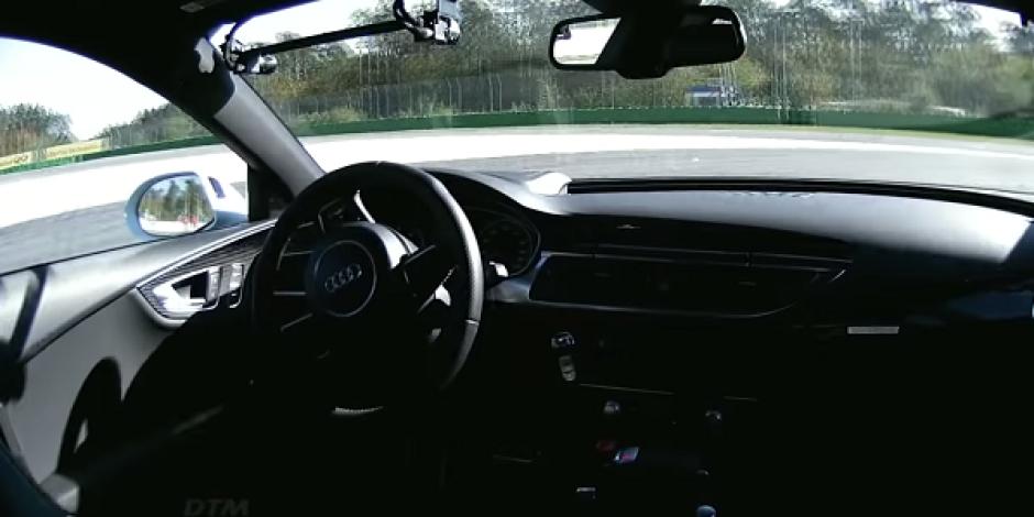 Audi'nin sürücüsüz aracı 240 kilometre hıza ulaştı [video]