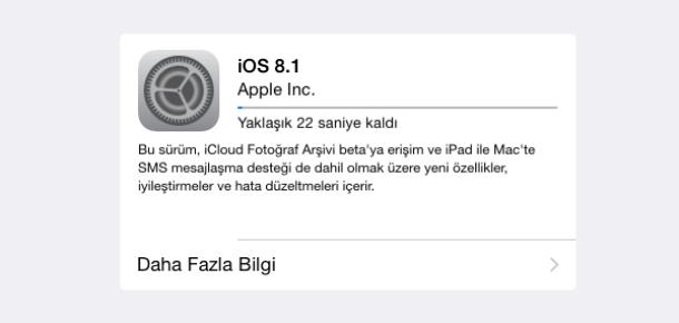 iOS 8.1'le gelen 22 iyileştirme
