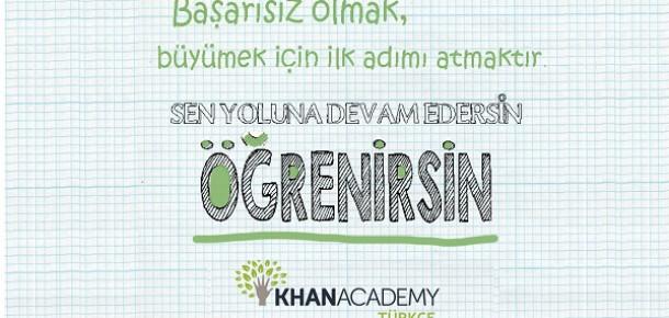 Ücretsiz online eğitim platformu Khan Academy ülkemizde birinci yılını kutluyor