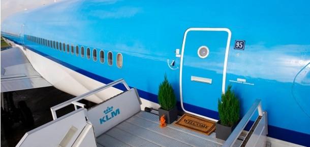 'Uçak'ta bir gece' için Airbnb'de rezervasyonlar açıldı
