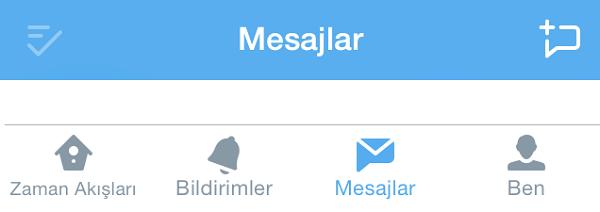 Twitter mesaj