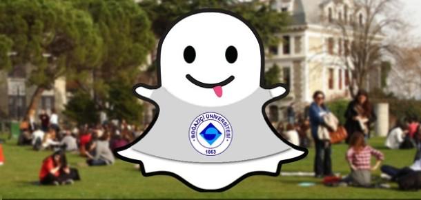Boğaziçi Üniversitesi, Snapchat'e adım attı