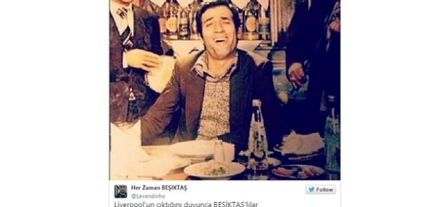 Beşiktaş'ın Liverpool'la eşleşmesini özetleyen 12 tweet