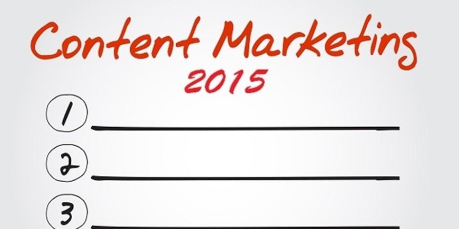 2015 yılında öne çıkması beklenen içerik pazarlaması yöntemleri