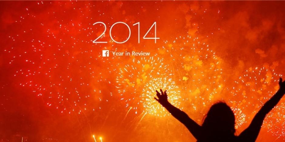 Facebook 2014 yılında öne çıkan 20 noktayı paylaştı