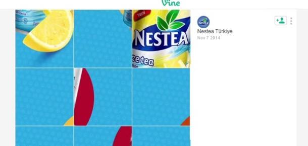 Milenyum nesline Vine'da oyun oynatarak ulaşmak: Nestea