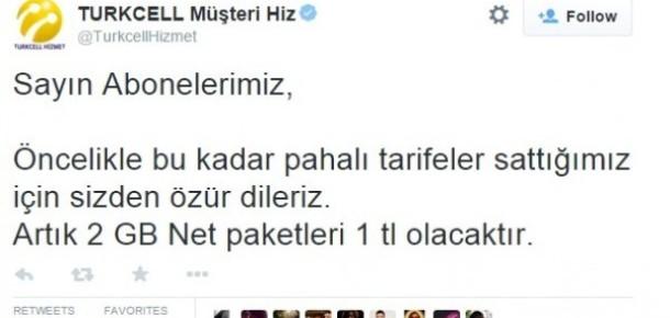 Turkcell Müşteri Hizmetleri'nin Twitter hesabı hacklendi [güncellendi]