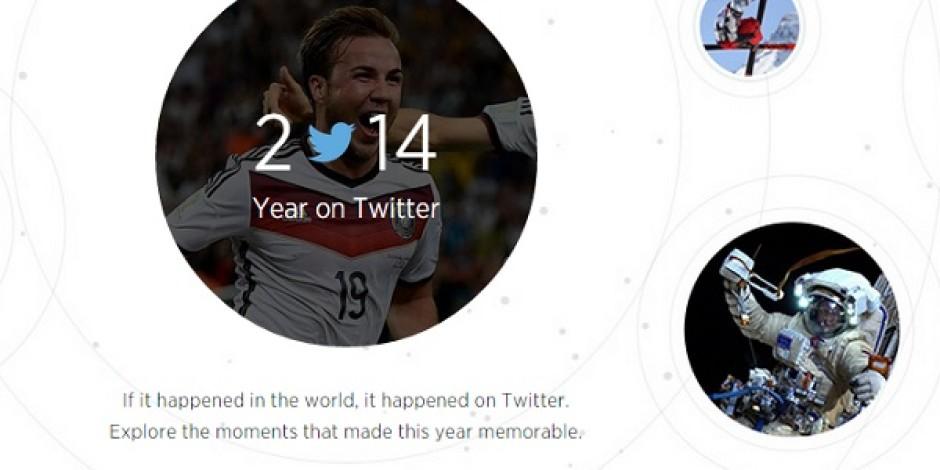 Twitter'da 2014 yılında öne çıkanlar