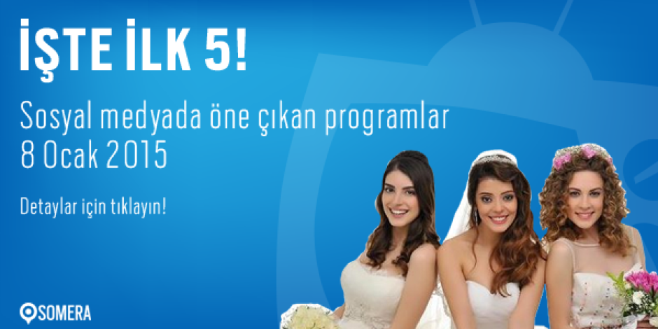 Sosyal medyada Perşembe'nin en popüler 5 televizyon programı
