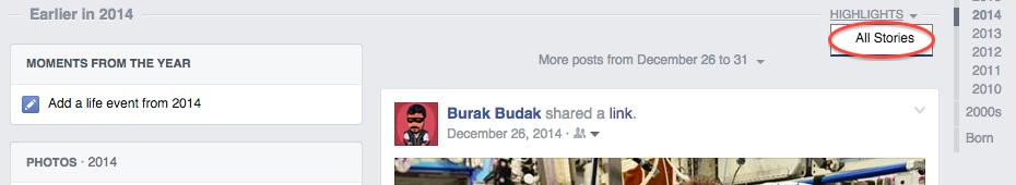 facebook da arama yapmak