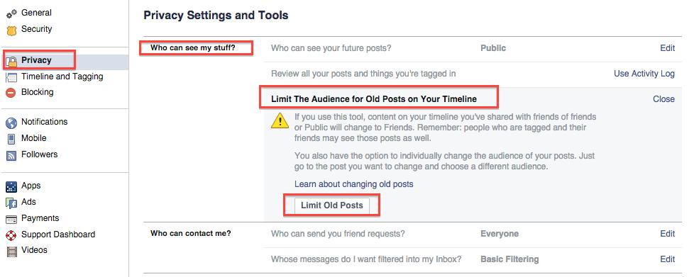 facebook güvenli arama yapma