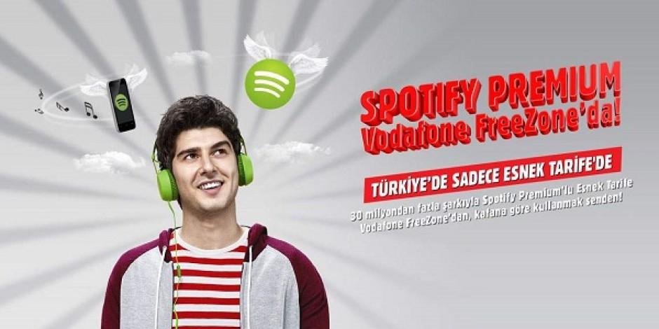 Vodafone'dan Spotify Premium'lu paketler